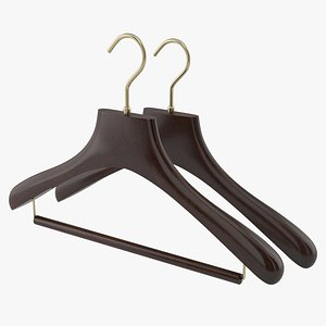 clothes hanger hang 3D model