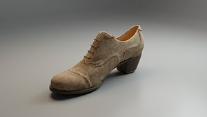 Women Ankle Boot 3D model