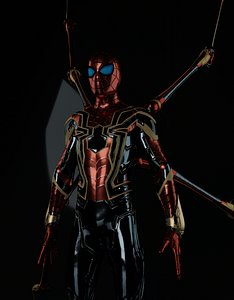 3D Spiderman Iron Spider MCU High Poly Rigged