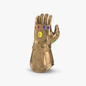 Thanos Infinity Gauntlet model