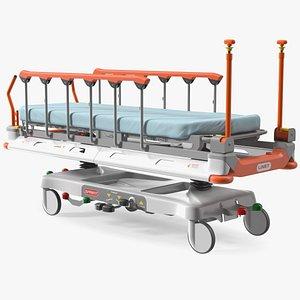 Linet Sprint 100 Transport Bed 3D model