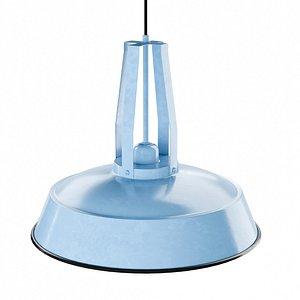 classic ceiling lamp qazqa 3D model
