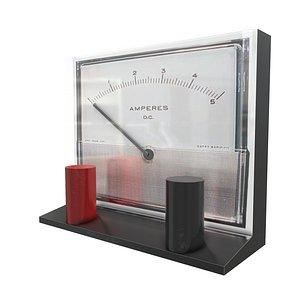 3D Ammeter