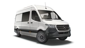 mercedes benz sprinter l2 3D model