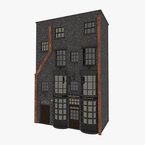 harry potter diagon alley 3D model