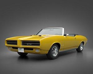 1969 Pontiac GTO Convertible model