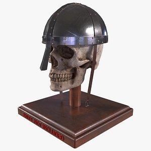 Medieval Helmet - Norman Helmet model