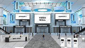 auditorium virtual 3D