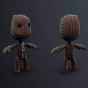 character toy 3D model