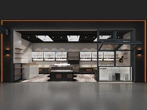 3D interior store