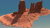 Canyon Cliff - A