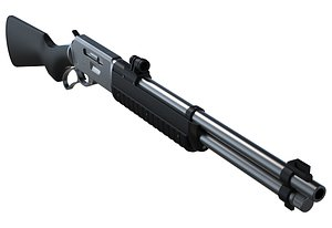 WINCHESTER RIFLE 3D
