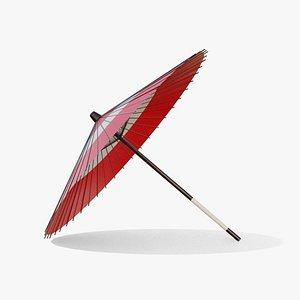 3D Japanese Umbrella model