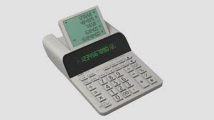 3D sharp el-1501 calculator