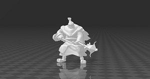 jax 3D model