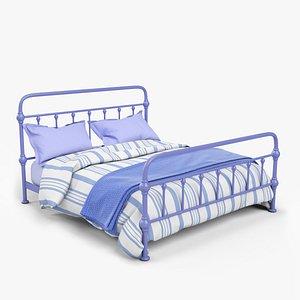 metal bed 3D model