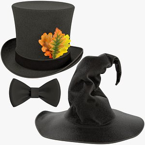 Halloween Hats Collection V7 3D