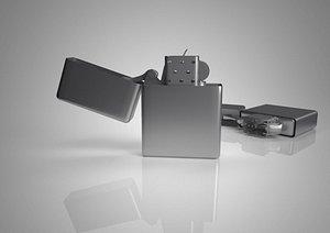 3D Lighters Traditional lighters Metal lighters High end lighters model