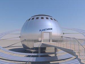 Planetarium 3D model