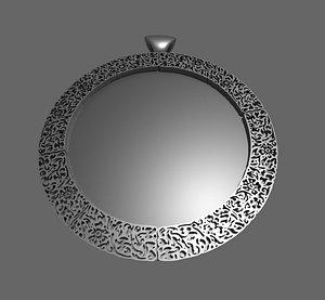 3D pendant