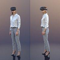 10029 Ramona - Business Woman With Virtual Reality Headset