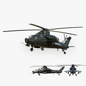 3D model CAIC Z-10 Fiery Thunderbolt