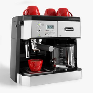3D model coffee machine delonghi bco430