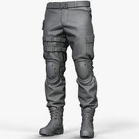 Zbrush Combat Pants