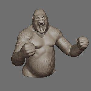 3D ape print model