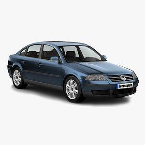 Volkswagen Passat TDI 3D model