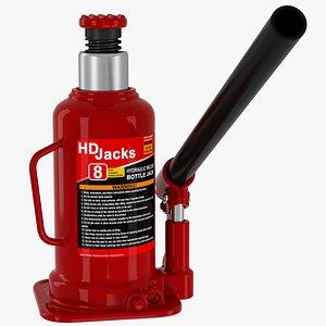 jack bottle hydraulic 3D model