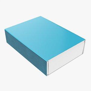 Box of matches 03 3D model
