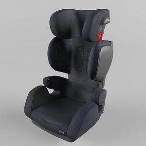 3D Recaro MAKO Children Car Seat  Core Performance Black model