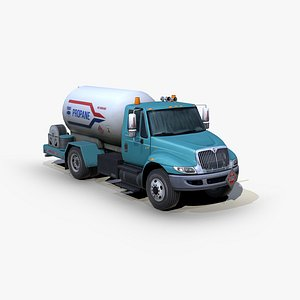 3D international durastar 4300 propane
