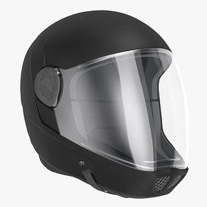 3D Skydiving Helmet Black model