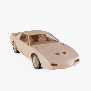 1991 Pontiac Firebird Trans Am GTA model