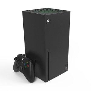 3D model xbox series x