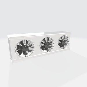 3D Evaporator for Cold Store Triple 3DSSKPOBJ