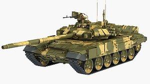 t 90 t-90 3D model