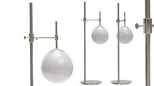 Table Lamp Erich Maytoni metal 3D model