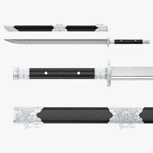 Dao Sword model