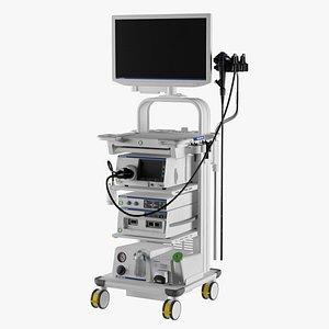 endoscope olympus evis x1 3D model