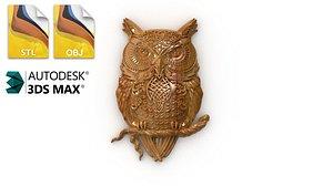 cnc owl 3D