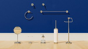 3D balungen ikea bathroom model