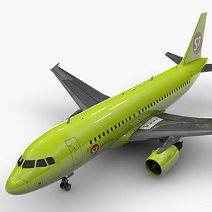3D AirbusA319-100S7 AirlinesL1453