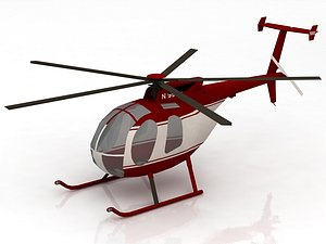 3D model MD Helicopters MD 500
