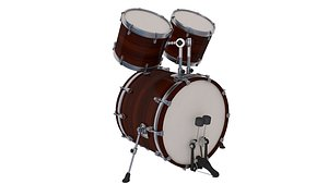 3D Bass Drum with Mid n Small Top