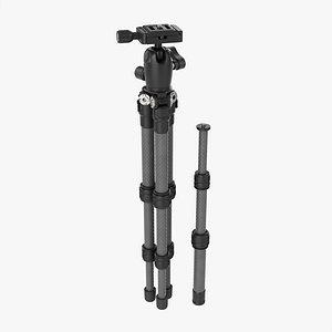 3D Tabletop carbon camera tripod 02