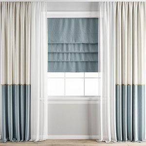 3D Curtain 202