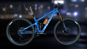 bicycle mtb enduro 3D
